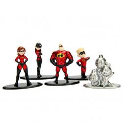 Nano MetalFigs - 5-Pack Incredibles 2
