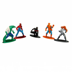 Nano MetalFigs - 5-Pack Spiderman Wave 1