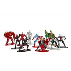 Μικρές μεταλλικές φιγούρες - Πακέτο 1 Marvel Avengers με 10 φιγούρες
