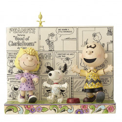 Peanuts by Jim Shore: Χαρούμενος Χορός