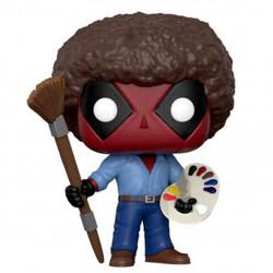 POP! Vinyl Bobble Head - Deadpool as Bob Ross