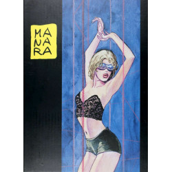 Portfolio Milo Manara: The Thief
