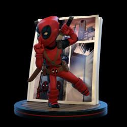 Q-Fig Diorama: Deadpool 4D