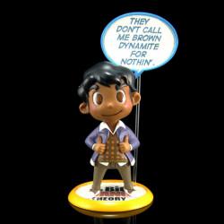 Q-Fig Diorama: The Big Bang Theory - Rajesh Koothrappali