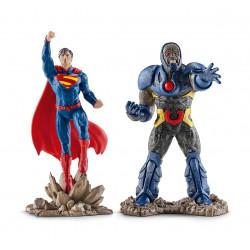 Schleich's DC 2-Pack Superman vs. Darkseid