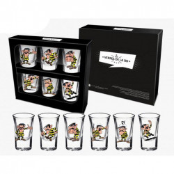 Shotglass 6-Pack  Joe Dalton