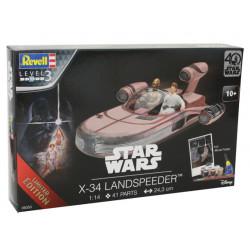Star Wars 40th Anniversary Level 3 Model Kit 1/14 X-34 Landspeeder