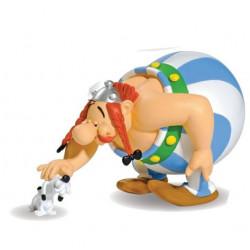 Statue Asterix: Obelix with Idefix