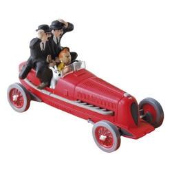 Αυτοκίνητα Τεντέν: Κόκκινο αγωνιστικό αυτοκίνητο - Τα πούρα του Φαραώ (Κλίμακα 1:43)